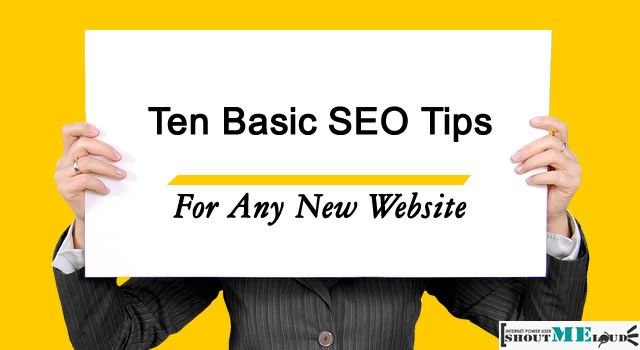 Ten Basic SEO Tips for Any New Website